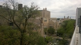 Some pictures from Brian's move-in at Yale