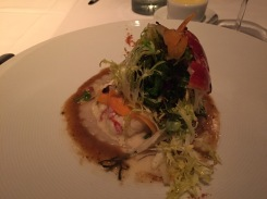 Lobster and ravioli, La Folie style