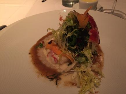 Lobster and ravioli, La Folie style