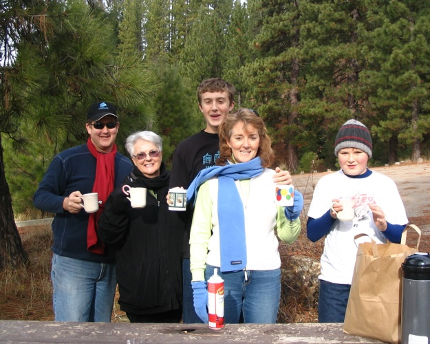Hot chocolate in the mountains, 2006