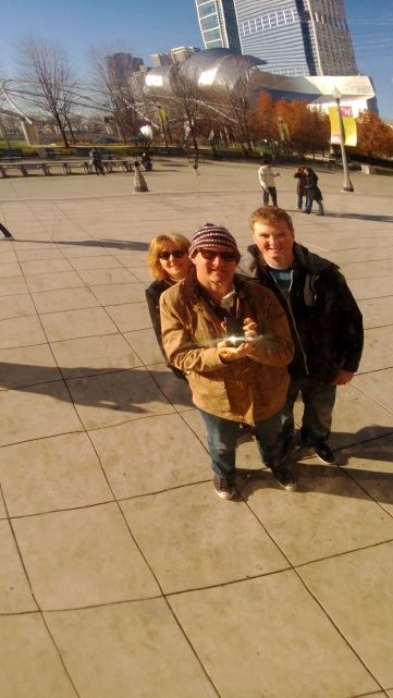College hunting in Chicago with Brian, late 2012