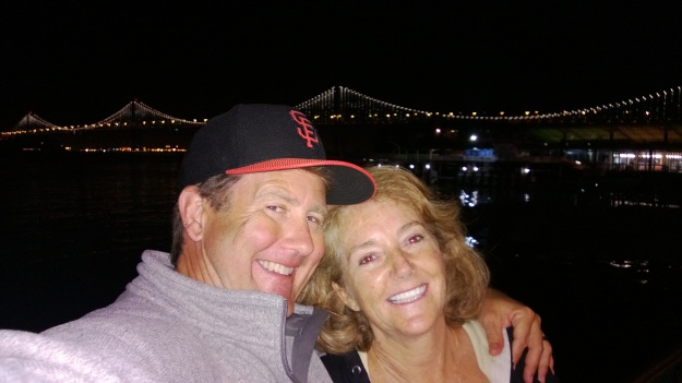 On the waterfront, after a Giants game
