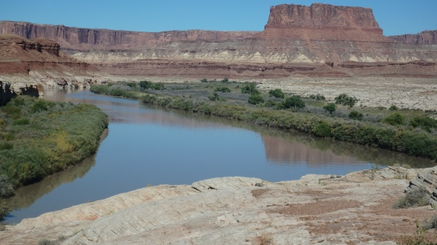 First good view of the Green River