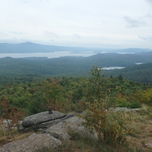Misty view from Cat Mountain